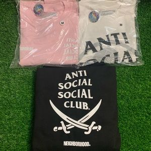 AntiSocialSocialClub x Neighborhood Black Hoodie